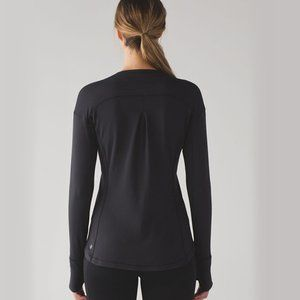 LULULEMON Outrun Long Sleeve Black Size 6 Run F17